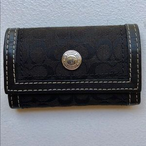 Coach mini wallet/coin purse